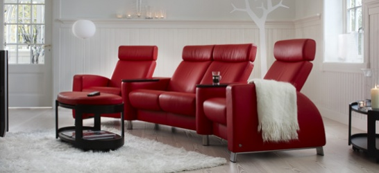 stressless le luxe existe que diriez vous d un canap cinq toiles pour regarder vos films. Black Bedroom Furniture Sets. Home Design Ideas