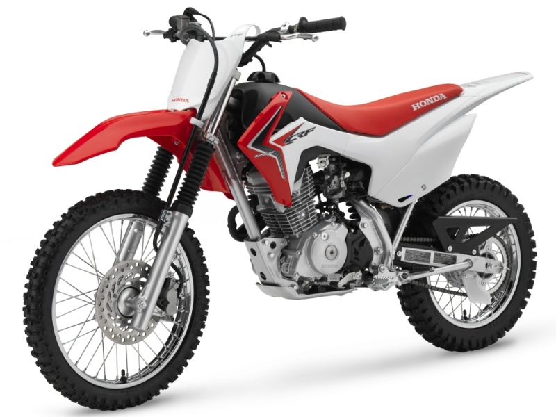 honda crf125f la moto id ale pour d couvrir le tout terrain infos 75. Black Bedroom Furniture Sets. Home Design Ideas