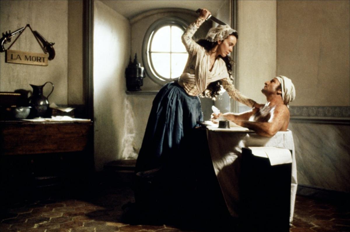 Charlotte Corday and the Bathtub Assassination of Jean-Paul Marat