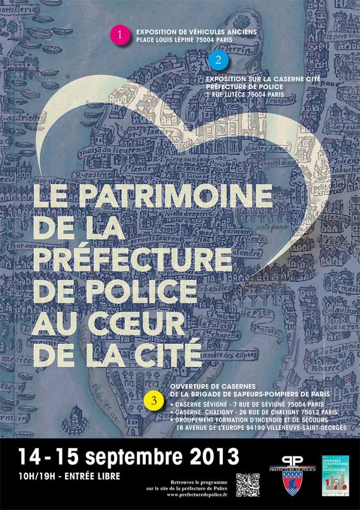 13 14 septembre la pr fecture de police de paris au coeur de la cit infos 75. Black Bedroom Furniture Sets. Home Design Ideas