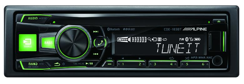 alpine cde 183 bt un autoradio t l phone mains libres infos 75. Black Bedroom Furniture Sets. Home Design Ideas