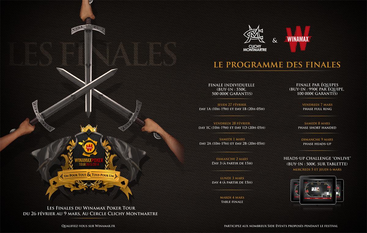 Programme wipt finales 2014 infos 75 - Programme cinema beaugrenelle ...