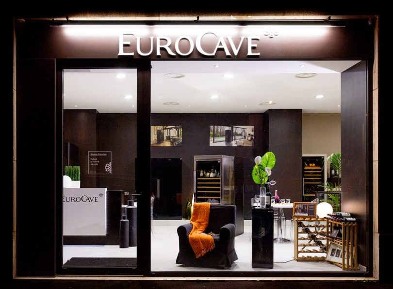 eurocave l inventeur de la cave vin infos 75. Black Bedroom Furniture Sets. Home Design Ideas