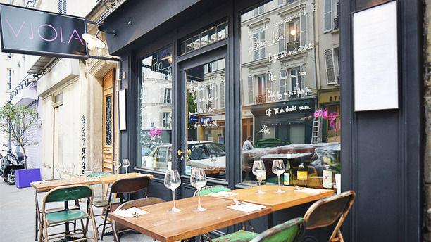 restaurant le ristorente viola la bistronomie l. Black Bedroom Furniture Sets. Home Design Ideas