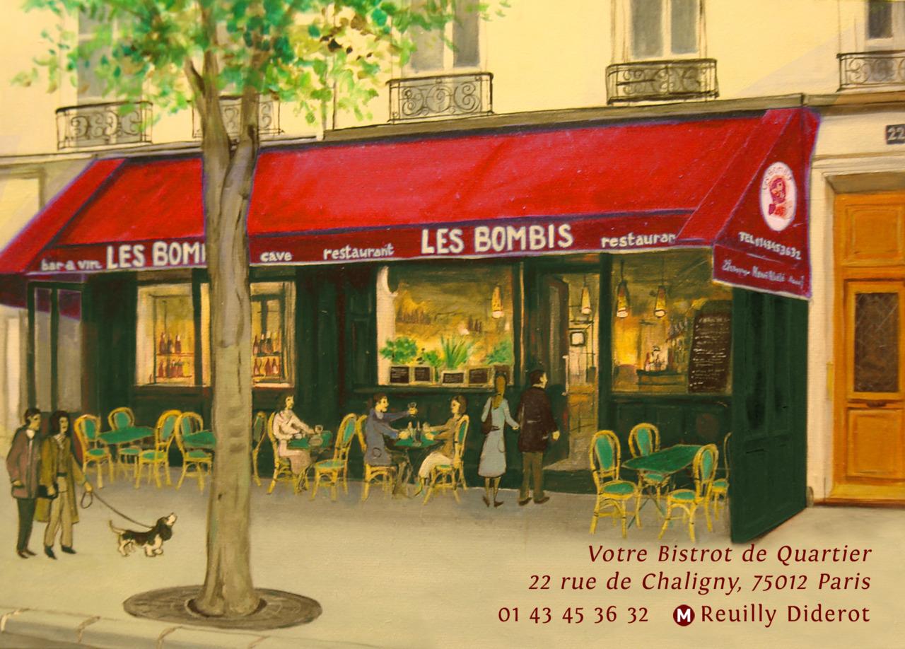 Restaurant Rue De Chaligny