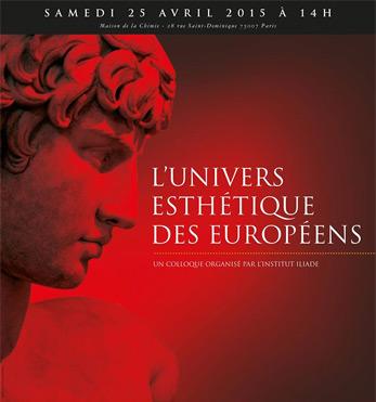 Paris colloque de l 39 institut iliade le 25 avril l univers for 28 rue saint dominique maison de la chimie