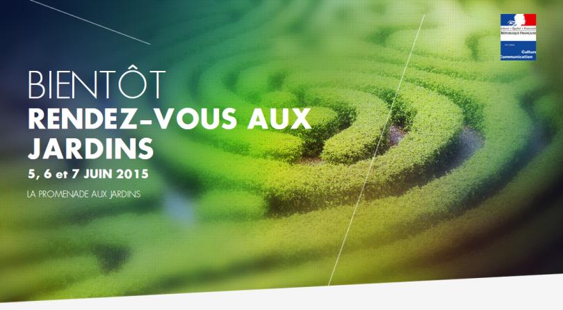 La bnf participe aux rendez vous aux jardins les 6 et 7 for Rendez vous au jardin 2015 yonne