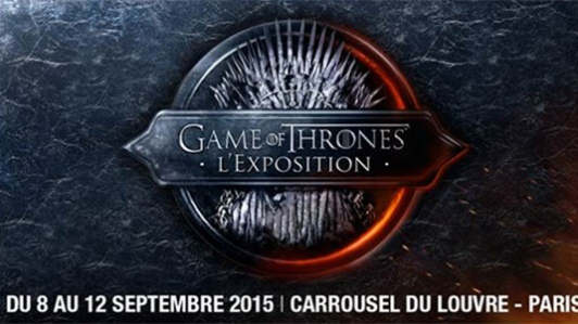 exposition game of thrones au carrousel du louvre infos 75. Black Bedroom Furniture Sets. Home Design Ideas