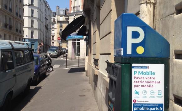 p mobile le stationnement facile partout dans paris infos 75. Black Bedroom Furniture Sets. Home Design Ideas
