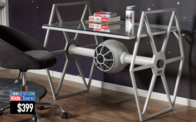 Lancement d une s rie de meubles star wars infos 75 for Decoration chambre star wars