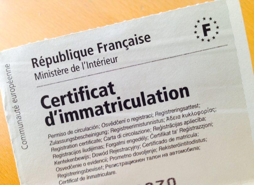 carte grise org certificat immatriculation Carte grise.: Obtenir une carte grise en quelques clics   Infos 75