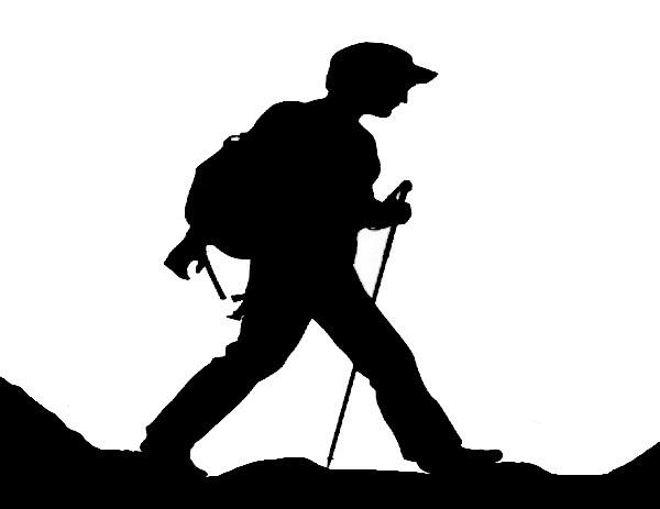 cliparts randonnée pédestre - photo #42