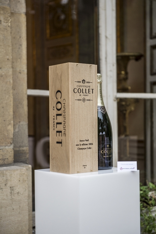 Champagne collet millesime 2006