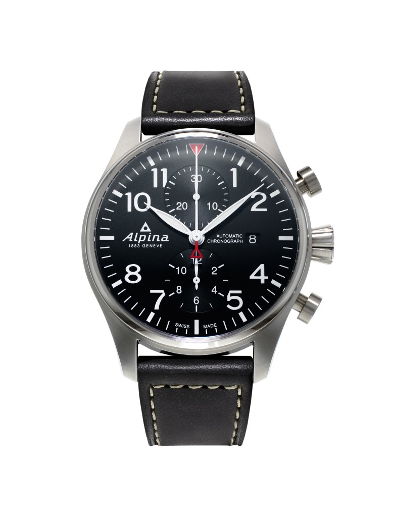 Alpina_Startimer Pilot Chronograph Automatic_ cadran noir - AL-725B4S6_soldat