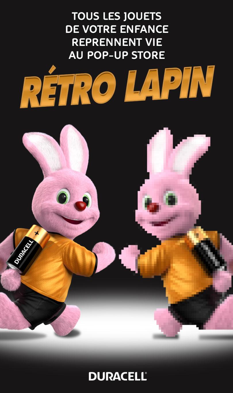 KEY VISUAL RETRO LAPIN