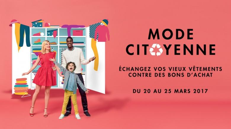 la mode citoyenne est de retour au centre pontault combault infos 75. Black Bedroom Furniture Sets. Home Design Ideas