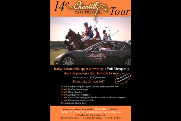 14e rallye automobile de chantilly cars prestige infos 75 for Chantilly cars prestige societe