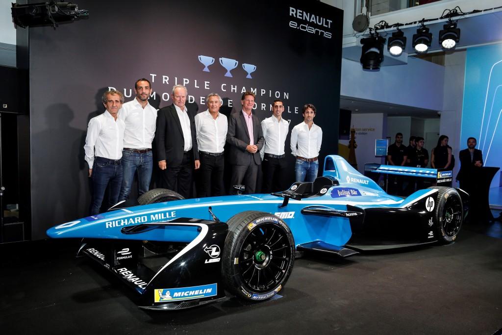 2017 - Révélation de Renault Z.E.17