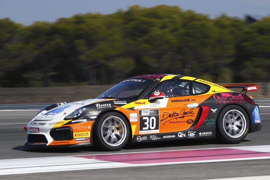 Porsche Cayman GT4 Clubsport MR de CD Sport