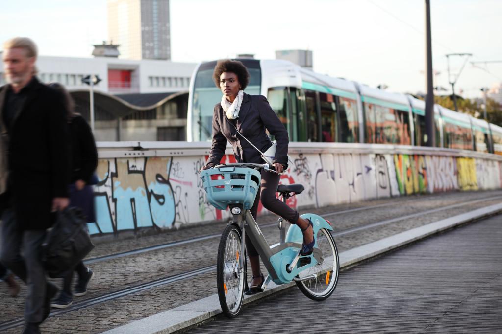 Vélib Métropole - Photo #1 (Crédits Alain Longeaud - Mieux)