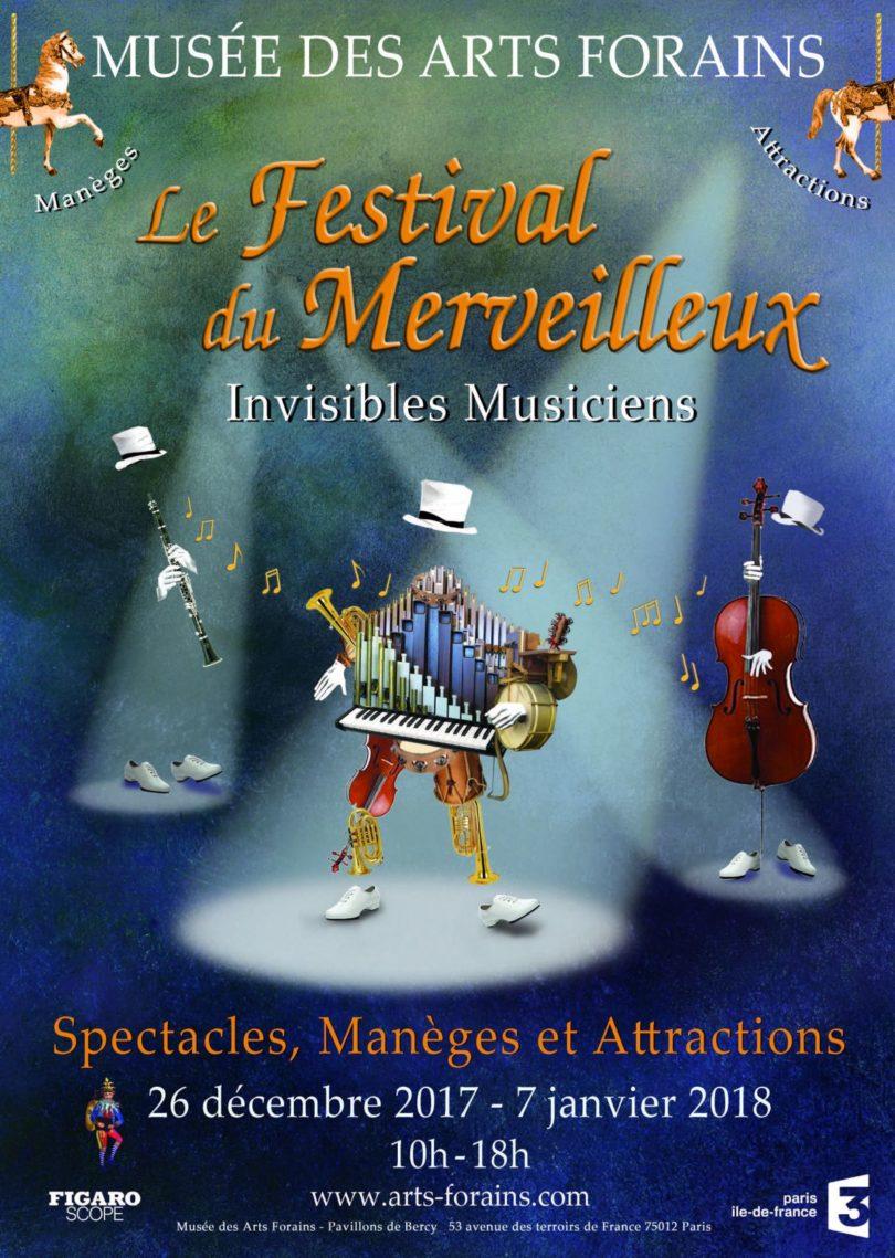 Affiche Festival du Merveilleux 2017