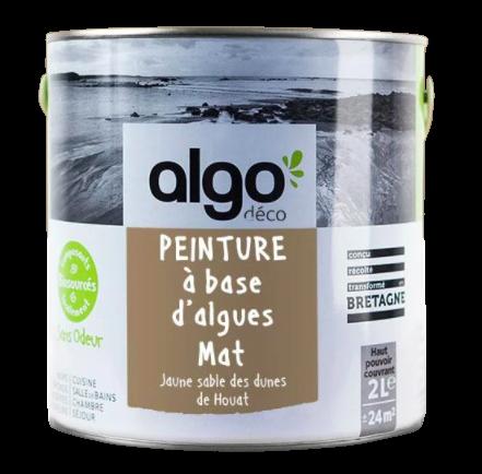 Algo - Peinture Jaune Sable des dunes de Houat